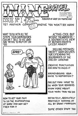 Kid with spanner brings down Robocop.  I actually used to buy comics fanzines like this.