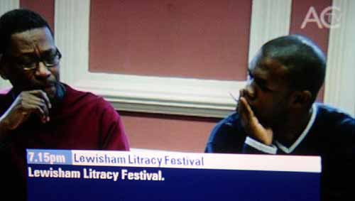 The Lewisham Litracy (sic) Festival