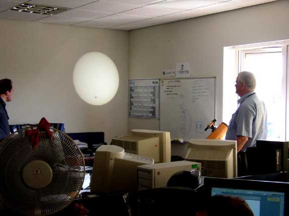 The 2004 transit of Venus as seen in our Bristol office